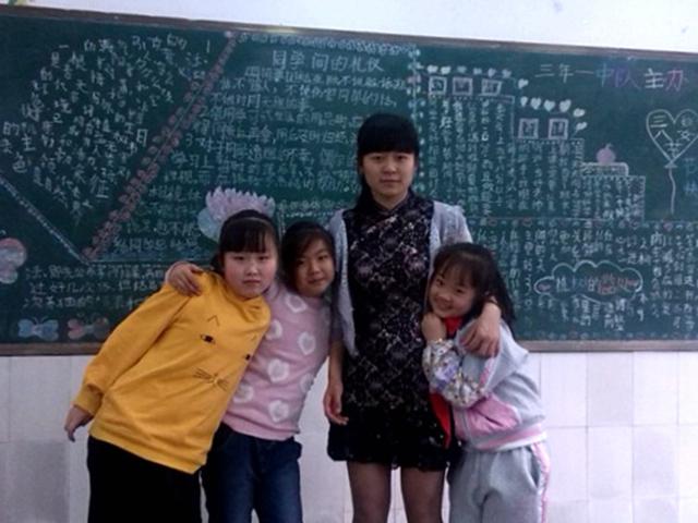 英语教师 秦小斯